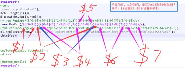 JS使用replace()方法匹配替换手机号、座机号、带区号连接符座机号